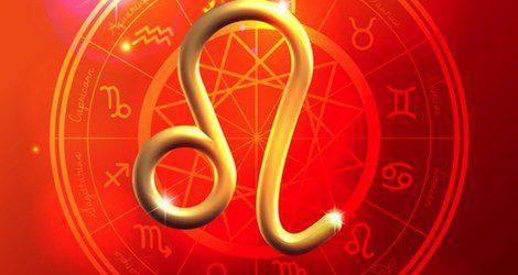 Representación del signo del zodiaco Leo