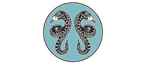 Representación signo zodiacal chino Serpiente