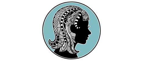 Representación signo zodiacal Virgo